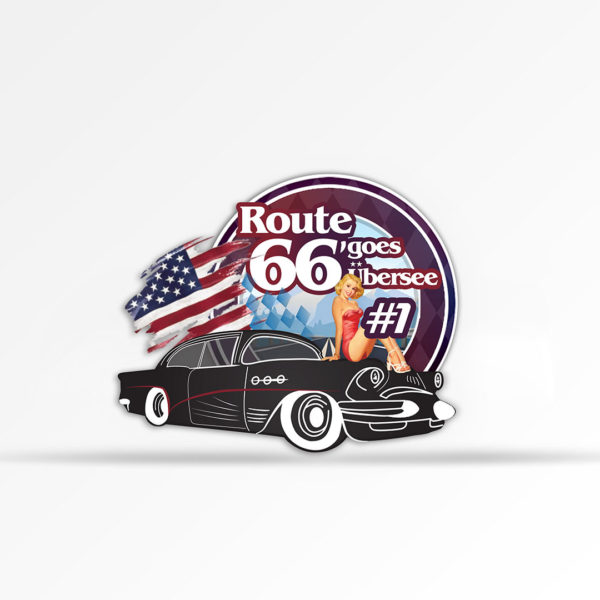 Route 66 goes Übersee
